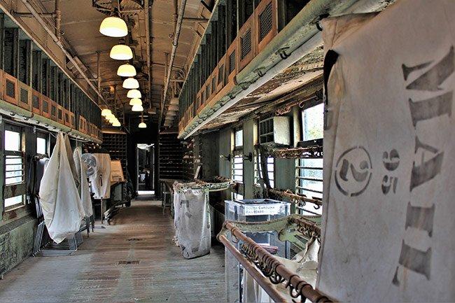 Winnsboro Rail Museum Mail Car