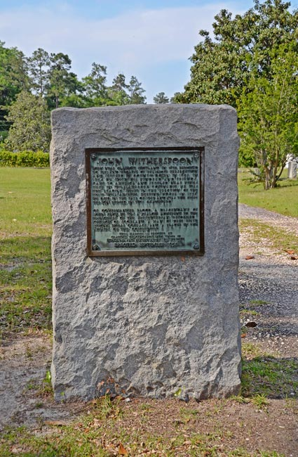 Witherspoon Marker