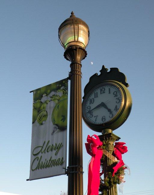 Woodruff Clock