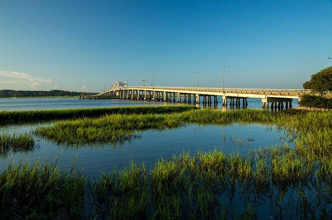Woods Bridge Beaufort
