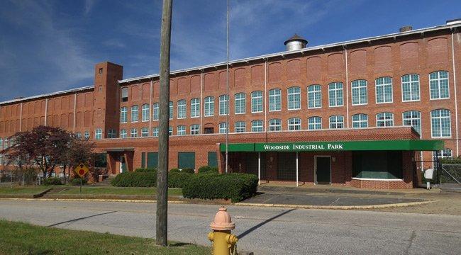 Woodside Textile Mill Greenville