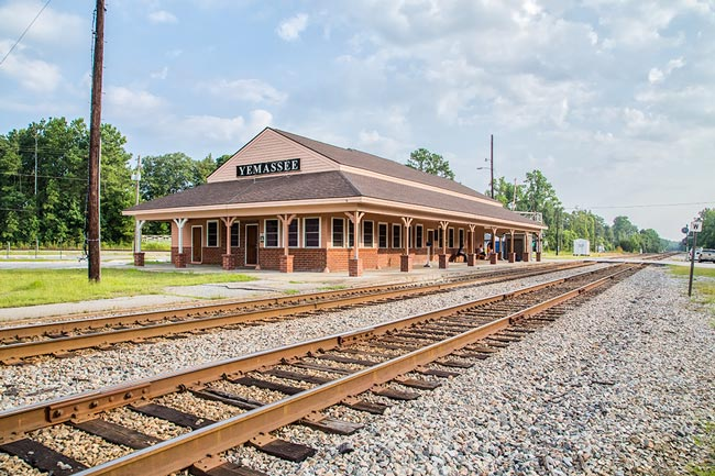 Yemassee Train Depot