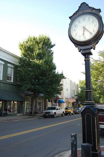 York Town Clock