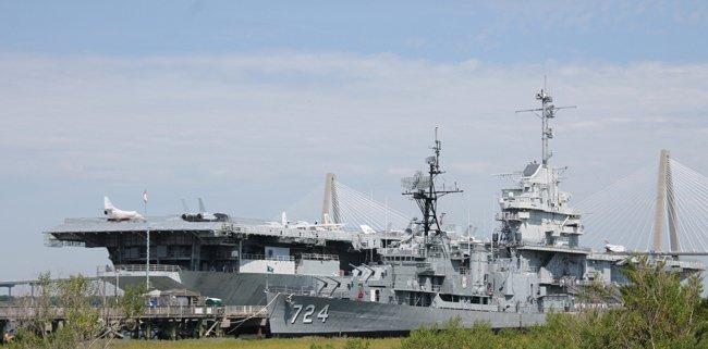 Yorktown Patriots Point Charleston