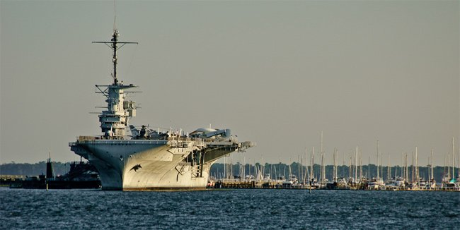 Yorktown at Patriots Point
