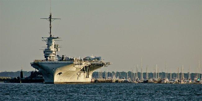 Yorktown at Patriots Point