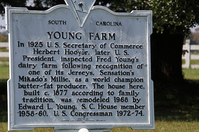 Young Farm Historical Marker