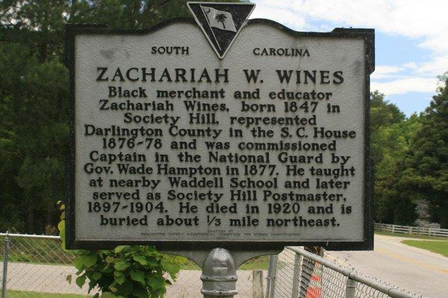Zachariah Wines Marker
