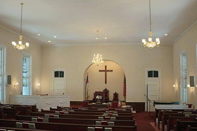 Zion Presbyterian Interior